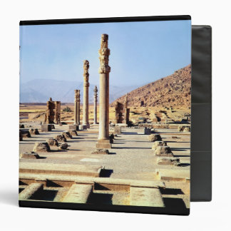 General view of the Apadana  founded c.518 BC 3 Ring Binder