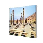 General view of the Apadana  founded c.518 BC Gallery Wrapped Canvas