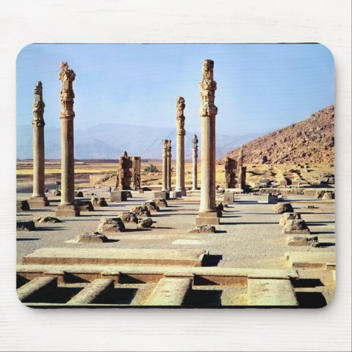 General view of the Apadana  founded c.518 BC Mouse Pad