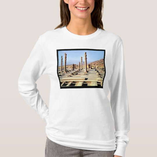 General view of the Apadana  founded c.518 BC T-Shirt