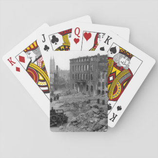 General view of the Bavarian city_War Image Playing Cards