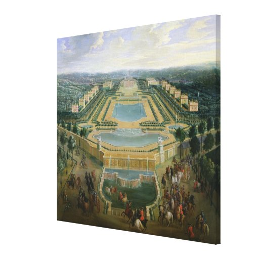 General view of the Chateau Canvas Prints