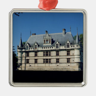 General view of the Chateau d'Azay-le-Rideau Metal Ornament