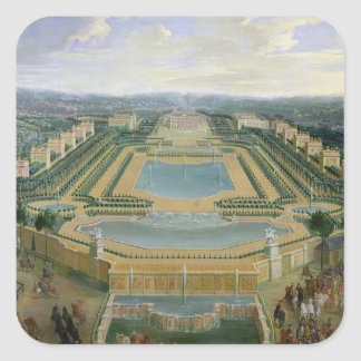 General view of the Chateau Square Sticker