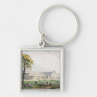 General view of the exterior of the building, in t keychain