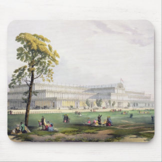 General view of the exterior of the building, in t mouse pad