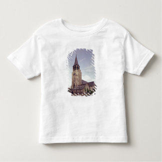 General view of the facade toddler t-shirt