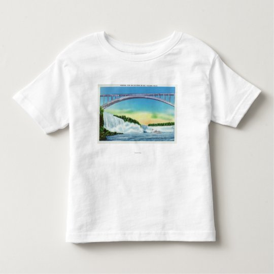 General View of the Falls and the Rainbow Toddler T-shirt