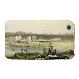 General View of the Island of Philae, Nubia, from iPhone 3 Cover