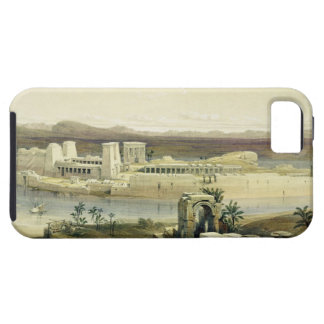 General View of the Island of Philae, Nubia, from iPhone SE/5/5s Case