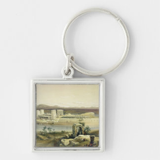 General View of the Island of Philae, Nubia, from Key Chain
