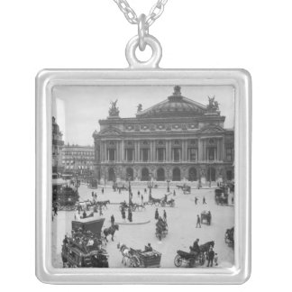 General view of the Paris Opera House Pendant