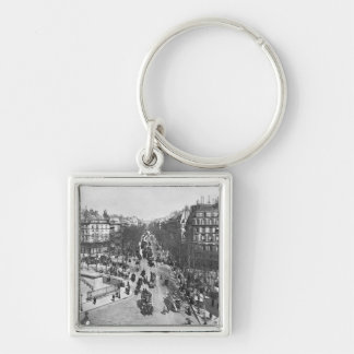 General view of the Place de la Madeleine Keychains