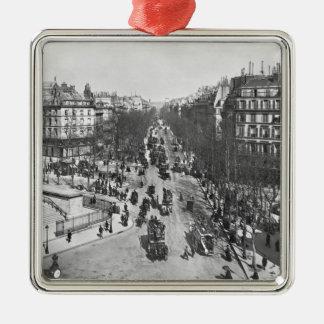 General view of the Place de la Madeleine Ornaments