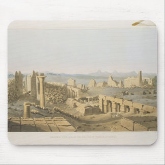 General View of the Ruins of the Great Temple of C Mouse Pad