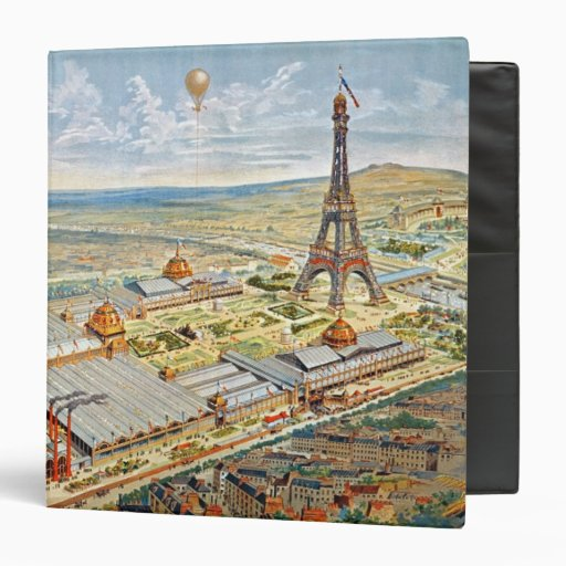 General View of the Universal Exhibition Vinyl Binders