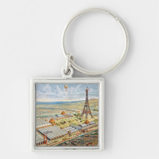 General View of the Universal Exhibition Keychain