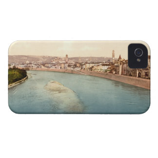 General View of Verona Veneto Italy Case-Mate iPhone 4 Cases