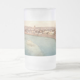 General View of Verona, Veneto, Italy 16 Oz Frosted Glass Beer Mug