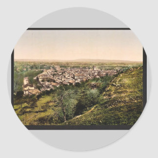 General view, Orange, Provence, France vintage Pho Stickers
