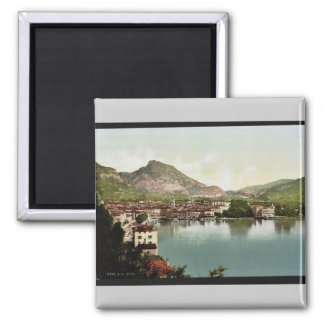 General view, Riva, Garda, Lake of, Italy vintage Magnets