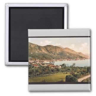 General view, Salo, Garda, Lake of, Italy vintage Refrigerator Magnet
