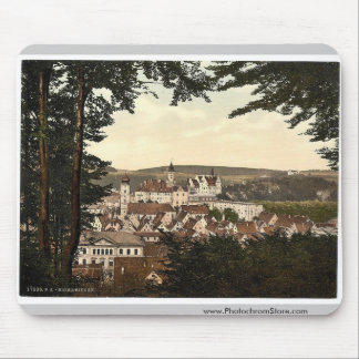 General view, Sigmarungen (i.e. Sigmaringen), Hohe Mouse Pad