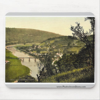 General view, Tintern, England classic Photochrom Mouse Pad