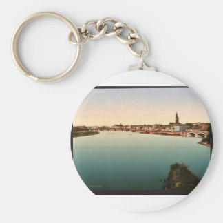 General view, Toulouse, France vintage Photochrom Keychain