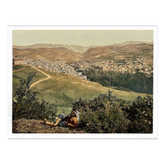 General view, Zahleh, Holy Land, (i.e., Zahlah, Le Postcard