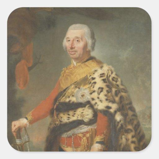 General von Zieten, 1769 Colcomanias Cuadradases
