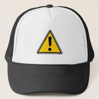 General Warning Sign Trucker Hat