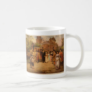 General Washington at Christ Church Easter Sunday Classic White Coffee Mug
