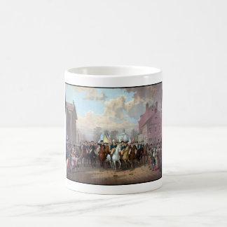 General Washington entra en Nueva York Taza
