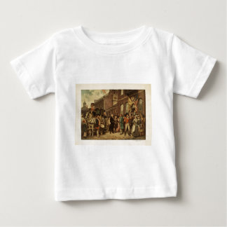 General Washington Inspecting the Captured Colors Baby T-Shirt