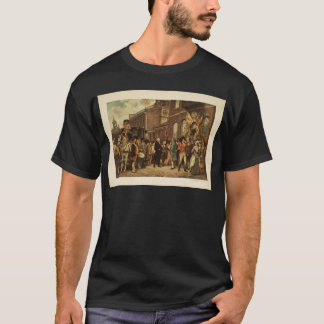 General Washington Inspecting the Captured Colors T-Shirt