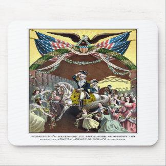 General Washington's Reception At Trenton Mouse Pads