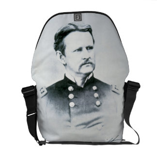 General Wesley Merritt (1834-1910) (b/w photo) Messenger Bag