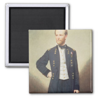 General William Sherman  1866 Magnet