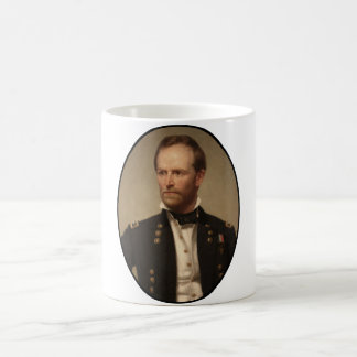 General William Sherman Painting Coffee Mug