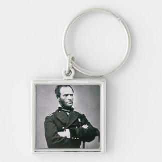 General William T. Sherman (1820-91) (b/w photo) Key Chain