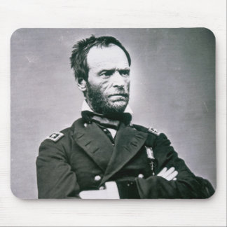 General William T. Sherman (1820-91) (b/w photo) Mouse Pad
