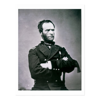 General William T. Sherman (1820-91) (b/w photo) Postcard