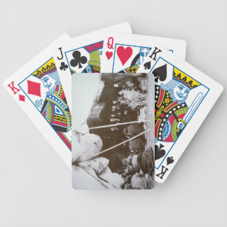 General William T. Sherman (1820-91) presides at t Bicycle Playing Cards