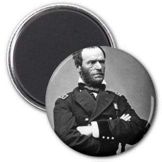 General William Tecumseh Sherman, 1865. Magnet