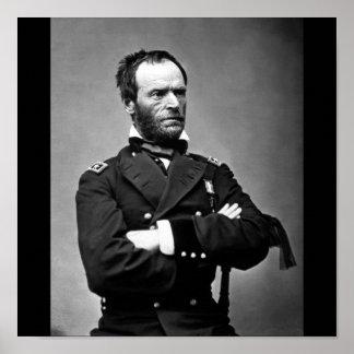 General William Tecumseh Sherman, 1865. Poster