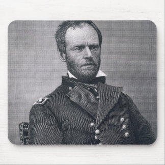 General William Tecumseh Sherman, engraved after a Mouse Pad