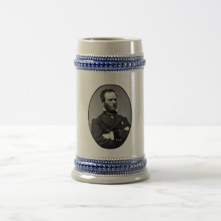 General William Tecumseh Sherman 18 Oz Beer Stein