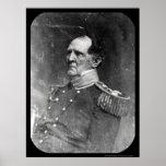 General Winfield Scott Daguerreotype 1849 Poster