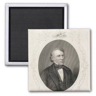 General Zachary Taylor 2 Inch Square Magnet